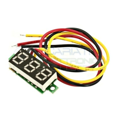Display Lcd BLU Voltometro DC 0-100V Tensione Tester  2,29€