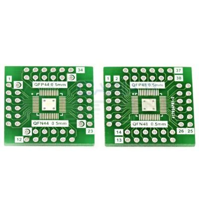 1 PEZZO Adattatore Basetta Test PCB QFN48 QFN44 a DIP48 DIP44  1,00€