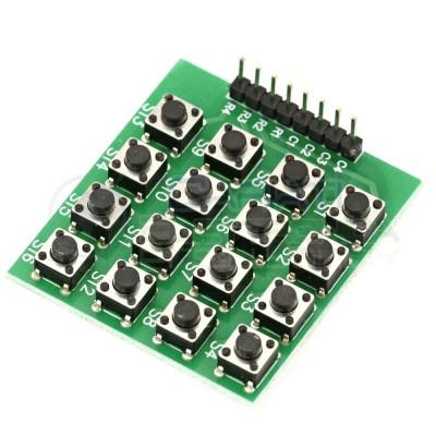 Tastiera Numerica Touch 4x4 16 Tasti Pulsanti Tastierino