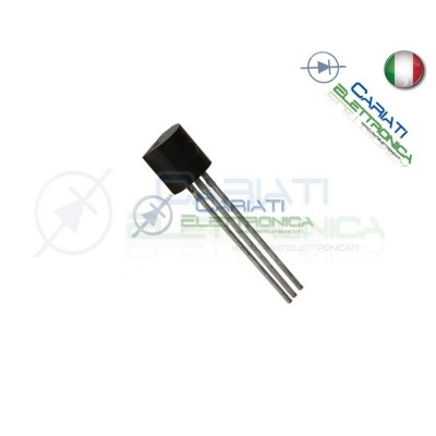 50 PEZZI BC548 Transistor NPN 30V 0.1A TO92