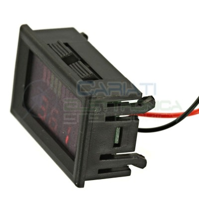 INDICATORE DI CARICA VOLTMETRO Display led per batterie al piombo 36V  8,90 €