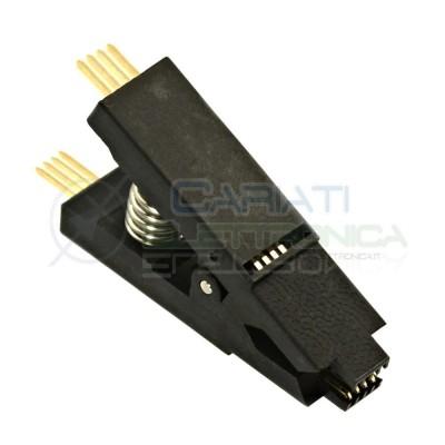 Pinza Test PCB per programmazione integrati SOP8 SOIC8  5,49€