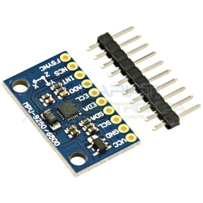 Modulo Giroscopio + accelerometro + magnetometro 9 assi MPU-9250 Arduino