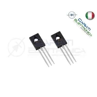 2 PEZZI BD138 transistor PNP 60V 1.5A 1,00 €