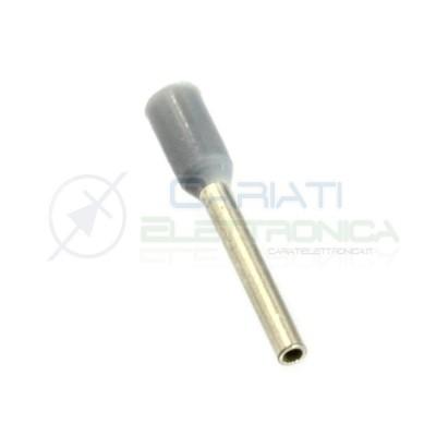 20 Pezzi Connettore a tubo per cavi da 0,14 mm Lunghezza 6 mm Terminale a tubetto