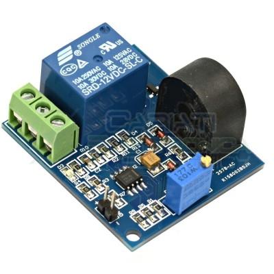 Modulo 12V di protezione da sovracorrente 5A max con sensore e relè  8,99€
