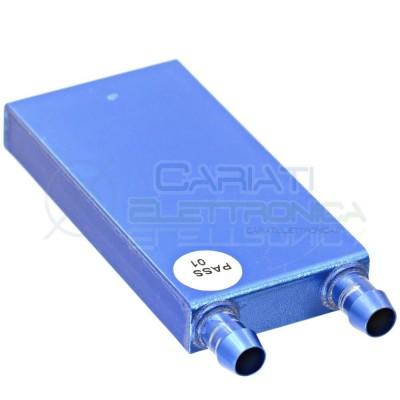 Waterblock per cella di peltier dissipatore liquido acqua 82x41mm