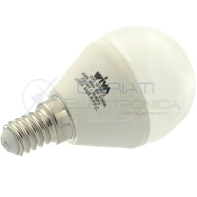 Lampada Lampadina LED LUCE FREDDA E14 450LM 230V 6W bianco freddo 6000K