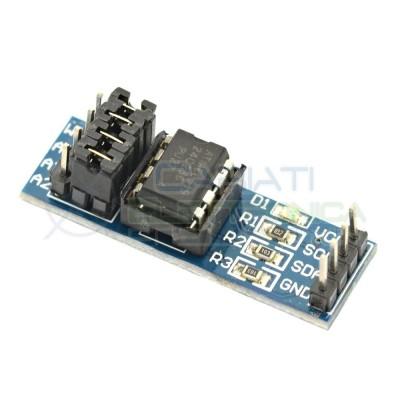 Scheda Modulo Memoria EEPROM 256K Atmel AT24C256 I2C