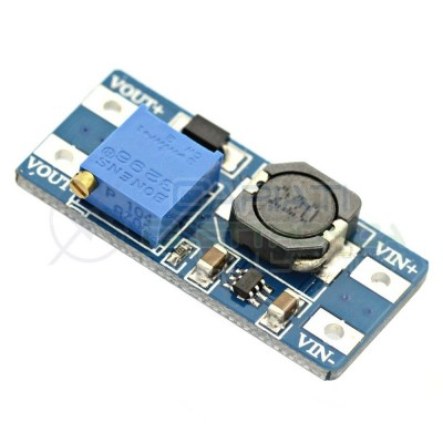 Mini regolatore Step Up 28V 2A MT3608 DC booster Arduino converter Generico