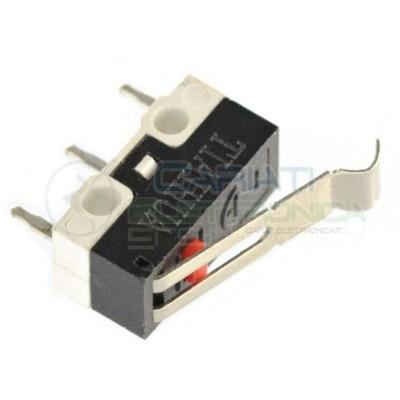 2 PEZZI MicroSwitch a leva Pulsante Fine Corsa Micro Switch PCB