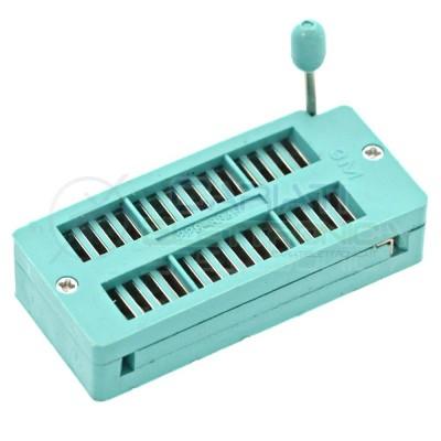 Adattatore Zoccolo ZIF 28 pin per circuiti integrati DIL DIP 2,50 €