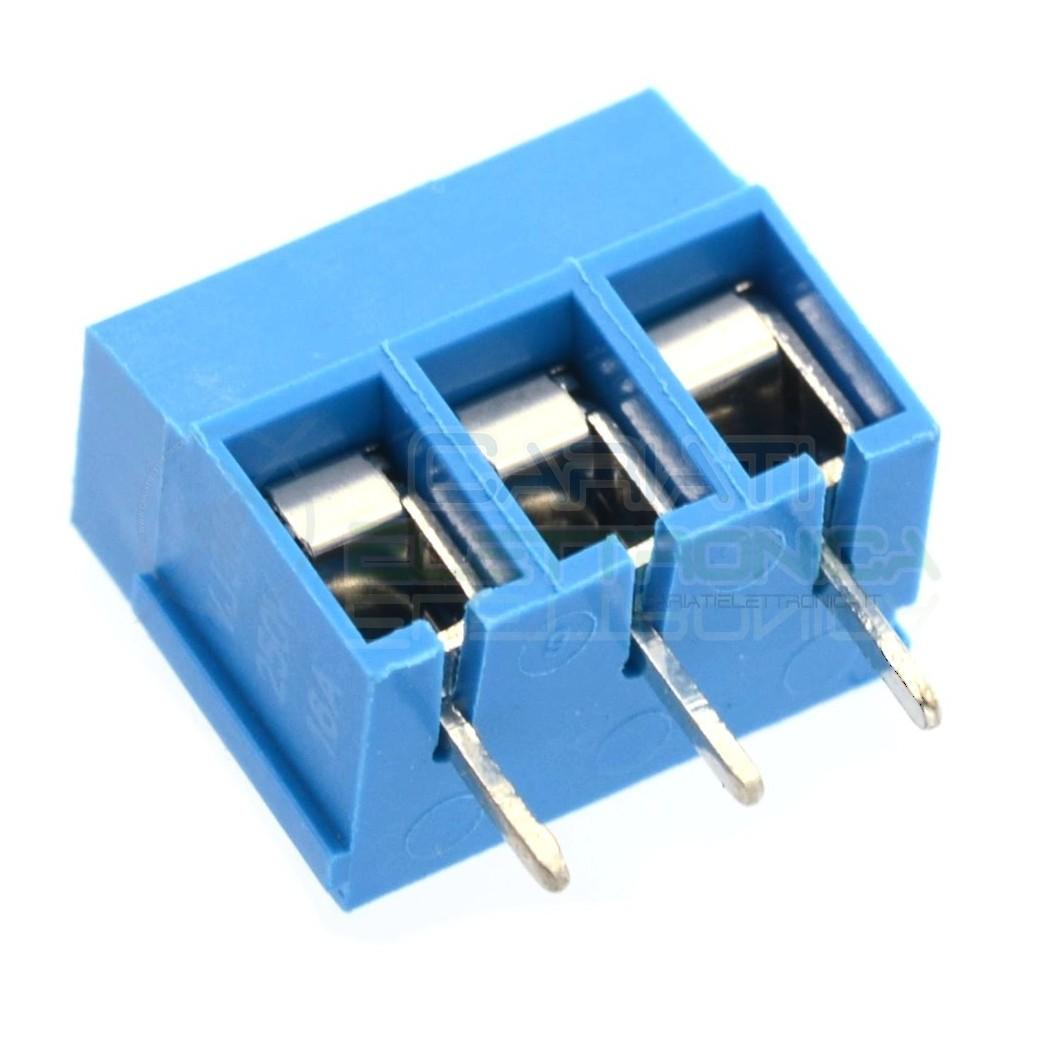 2 PEZZI Morsettiera Morsetti 3 Poli H 12,5mm Connettori segnali alimentazione da pcb