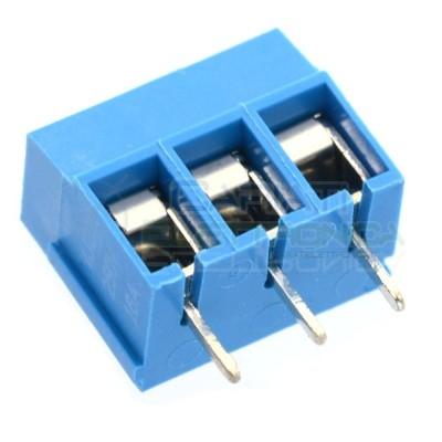 10 PEZZI Morsettiera Morsetti 3 Poli H 12,5mm Connettori segnali alimentazione da pcb