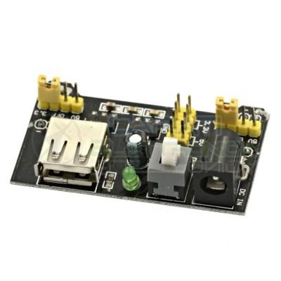 Alimentatore per breadboard 5V - 3,3V arduino piastra sperimentale USB