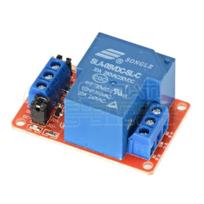 Scheda modulo 5V 1 relè canale 240Vac 30A SLA-05VDC-SL-C