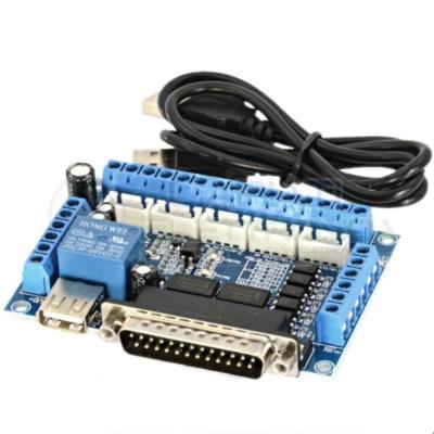 Scheda di interfaccia cnc 5 assi parallela breakout board mach 3