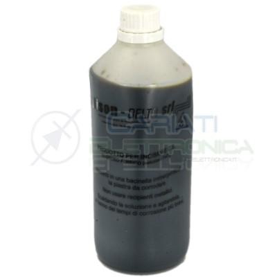 Cloruro ferrico 1 Lt litro liquido per basetta incisione rame EDISON Elcart 7,59€