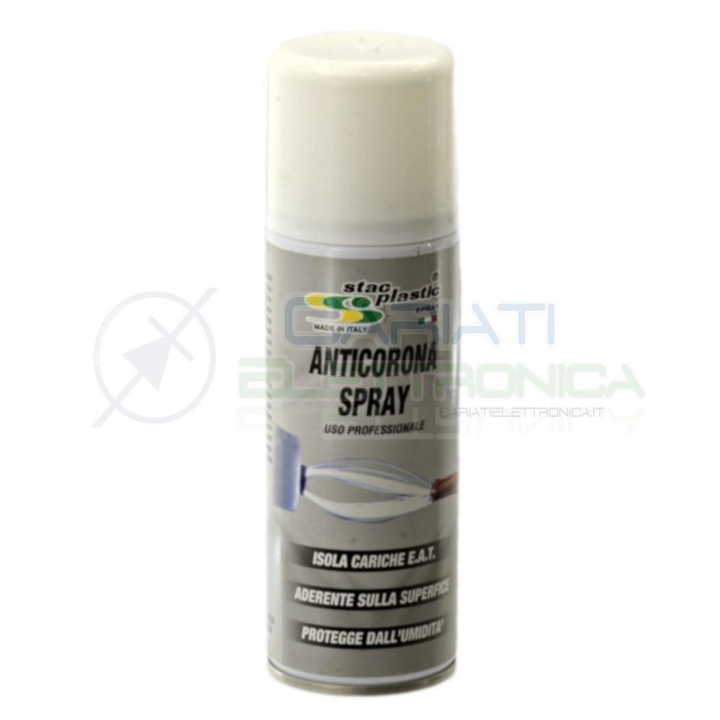 SPRAY ANTICORONA 200ML STAC PLASTIC USO PROFESSIONALE ISOLA CARICHE EAT  4,09€