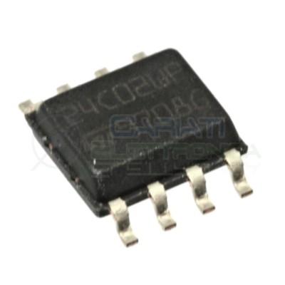 2 PEZZI Memoria ST 24C02WP EEPROM seriale 24C02 256 byte 256x8 bit I2C SOP8 SOIC8 ST MICROELECTRONICS SGS-THOMSON 0,60 €