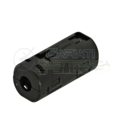 Filtro Ferrite Nero Per Cavi Contro Elimina Interferenze Diametro 6mmFerrico