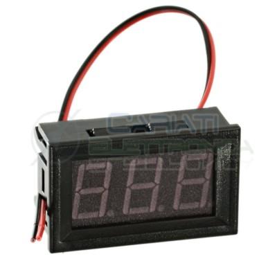 Display Lcd BLU Voltometro AC da pannello 60V-500V Tensione Tester