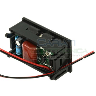 Display Lcd BLU Voltometro AC da pannello 60V-500V Tensione Tester  7,99€