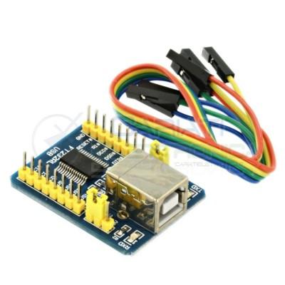 Convertitore FT 232 FT 232 RL USB B a Serial TTL Module con Cavi