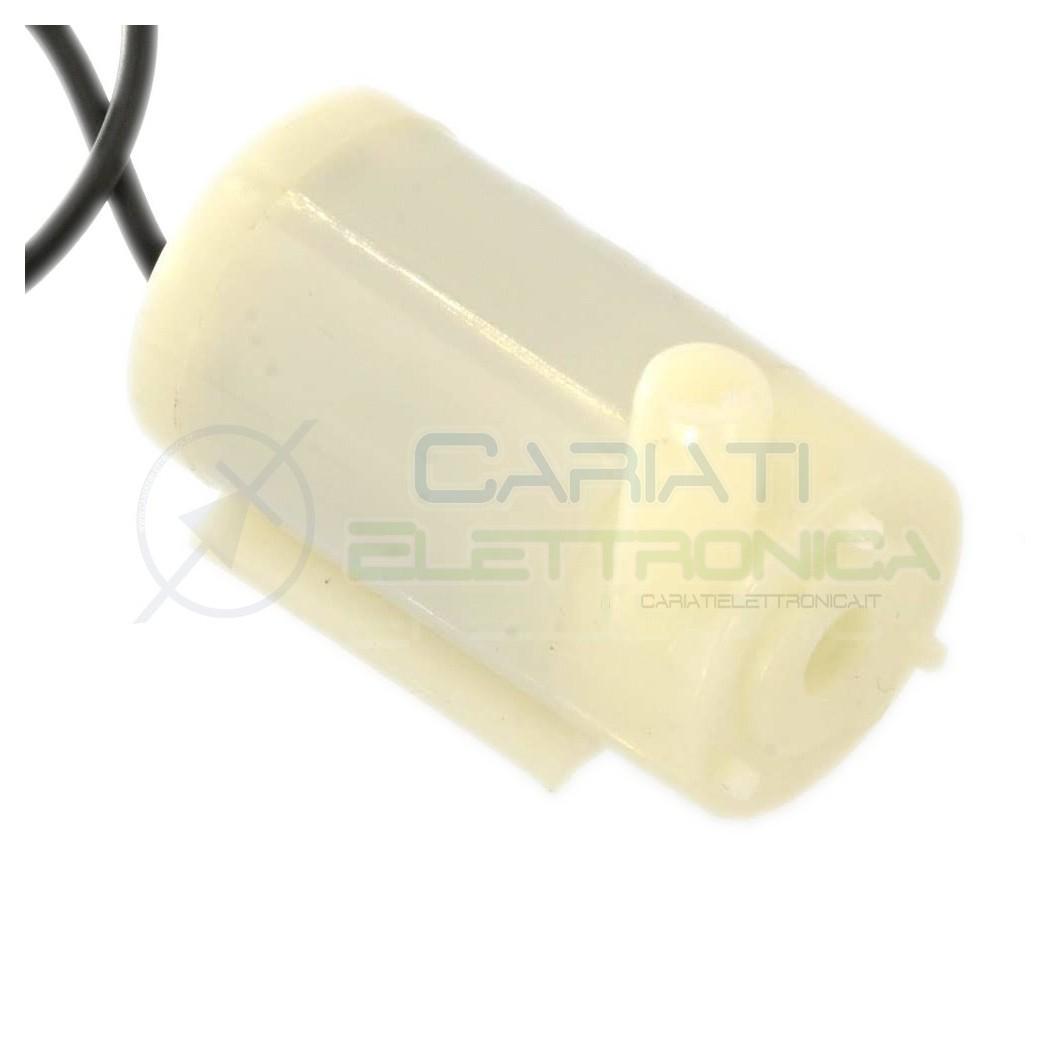 Micro pompa 5V 12V per Liquidi acqua acquario idroponica arduino 2,99 €