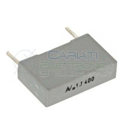 2 PEZZI Condensatore poliestere 100nF 100 nF 400V R60 Passo 15mm 10%  0,90€