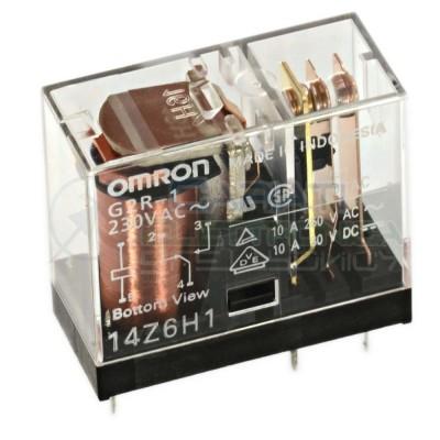 Relè OMRON G2R-1 G2R1 bobina da 230Vac 10A 250Vac 10A 30Vdc SPDT Omron