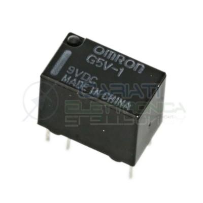 Relè singolo scambio OMRON G5V-1 9VDC 1A 9V SPDT  1,49€