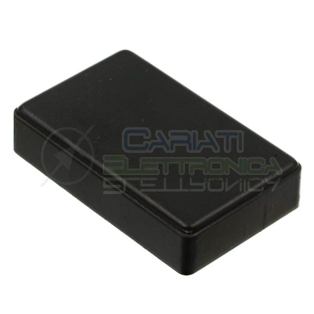 Contenitore 90x56x23 mm - custodia per elettronica ABS nero