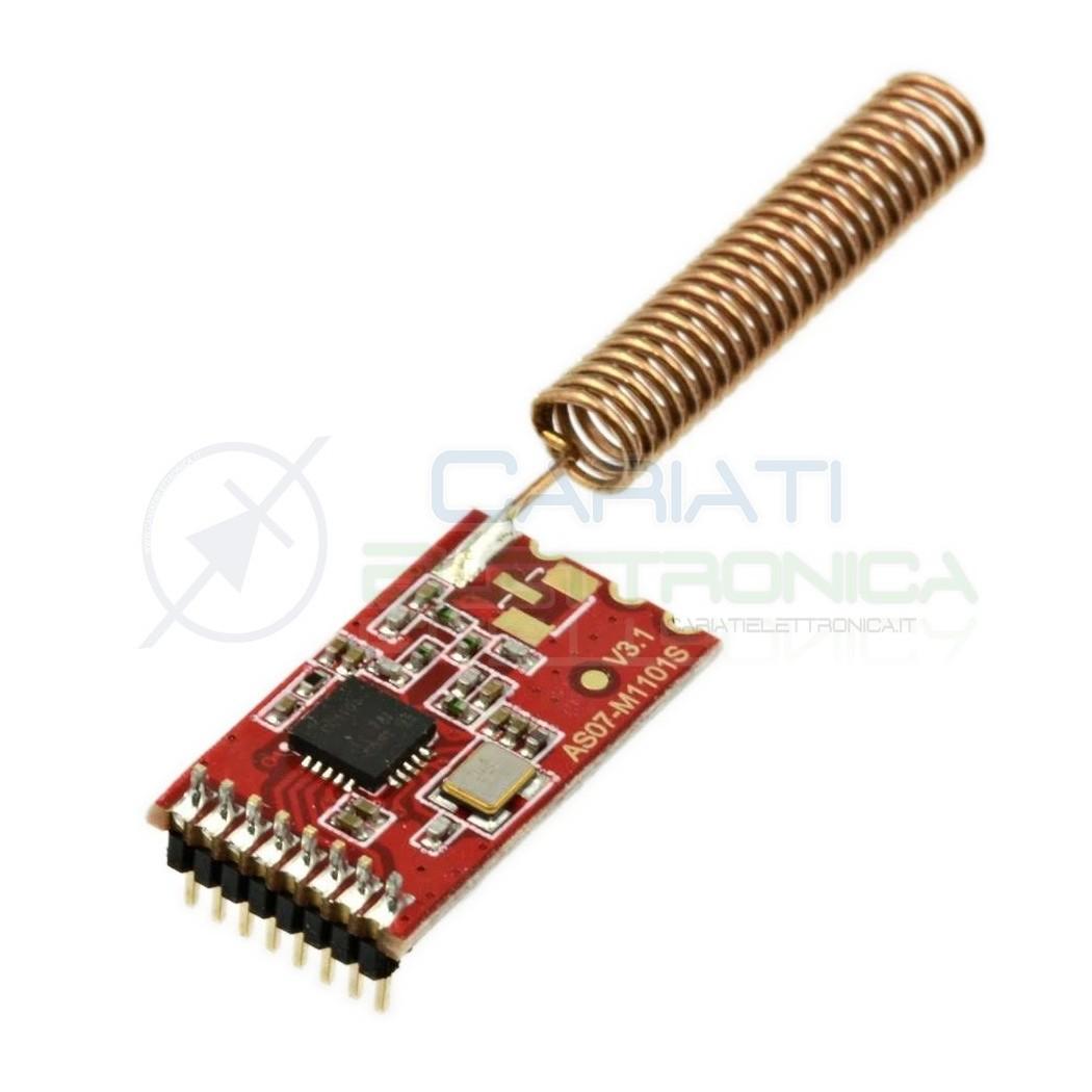 Modulo cc1101 433mhz as07-m1101s wireless radio trasmettitore ricevitore fhem Arduino Raspberry