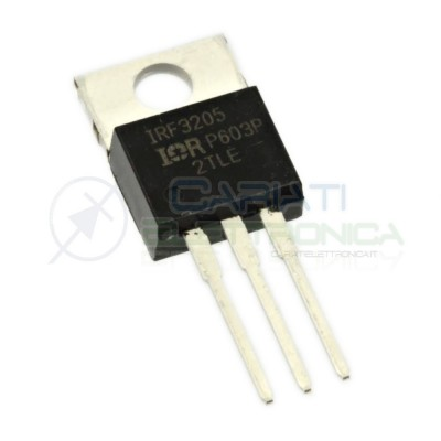 1 PEZZO IRF3205 IR Transistor N-fet 55V 110A 200W IRF3205PBFInfineon