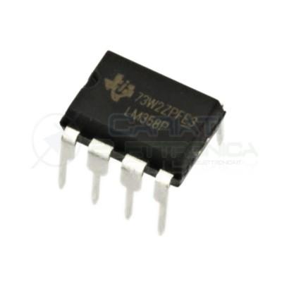 2 PEZZI LM358P LM358 P Amplificatore operazione DIP8 8 Pin ST MICROELECTRONICS