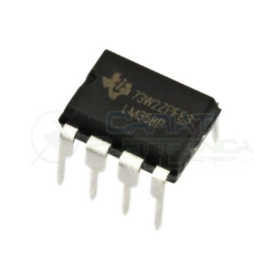 4 PEZZI LM358P LM358 P Amplificatore operazione DIP8 8 Pin ST MICROELECTRONICS SGS-THOMSON 0,90 €