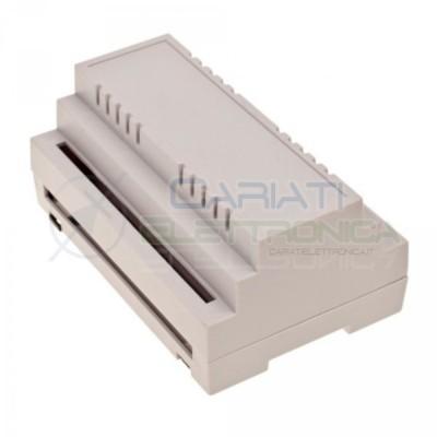 Contenitore Custodia DIN per Guida 90 x 140 x 63 mm Quadro elettrico Antifiamma Domotica  3,90€