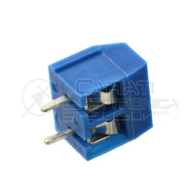 50 PEZZI Morsettiera 2 Poli H 10 Morsetti Connettore PCB Terminal Block Generico