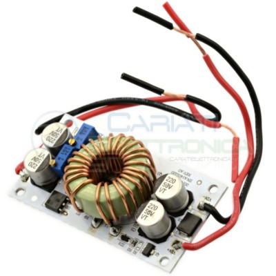 Convertitore Regolabile di tensione corrente STEP UP 10A DC DC 250W 9-48V 12V