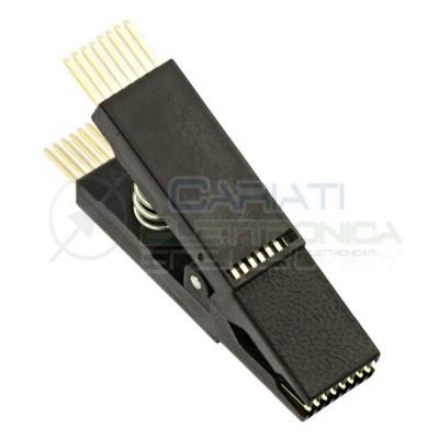 Pinza Test PCB per programmazione integrati SOP16 SOIC16  6,59€