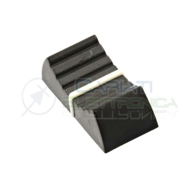 2 PEZZI Manopola Pomello Knob per Potenziometro a slitta slide con testa 4mm  0,90€
