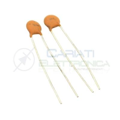 10 PEZZI Condensatore Ceramico a Disco 330pF 330 pF 50V Y5P Passo 2,54mm