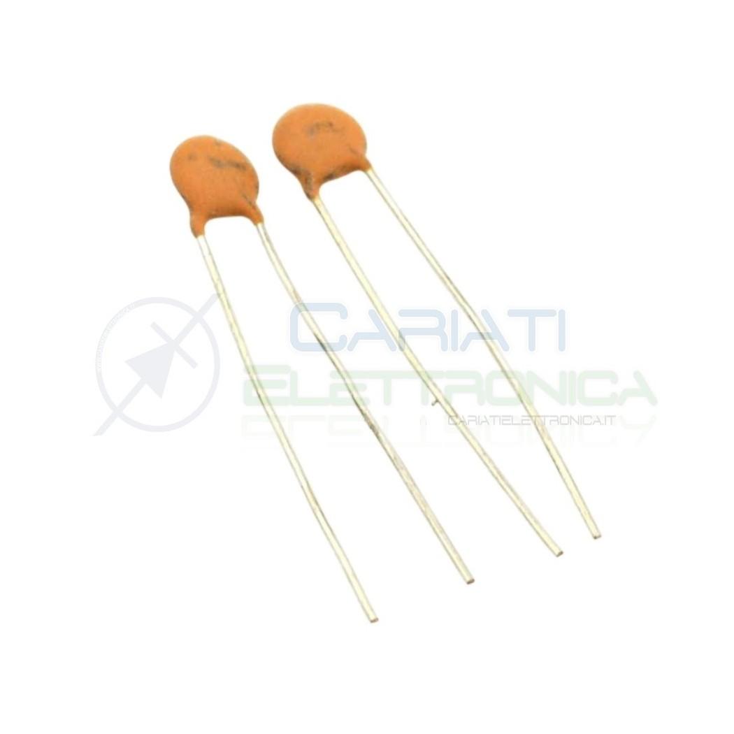 10 PEZZI Condensatore Ceramico a Disco 470 pF 470pF 1KV Passo 5mm