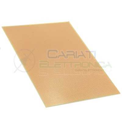 BASETTA MILLEFORI 230 x 160 mm P. 2,54 Monofaccia IN VETRONITE BREADBOARD