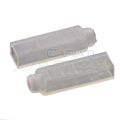 20 PEZZI Cover cappuccio protezione per connettori Faston da 2,8mm