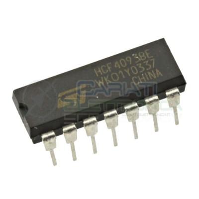 2 PEZZI HCF4093BE HCF4093 Integrato Porta NAND ST MICROELECTRONICS SGS-THOMSON 0,79€