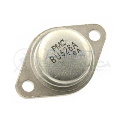 1 PEZZO Silicon NPN Power Transistor BU526A 460V 8A 86W formato TO3