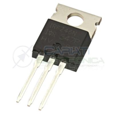 1 PEZZO Transistor IRFZ46N IOR TO-220 N-Channel 53A 55V 107WATT IRFZ46NPBF
