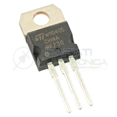 1 PEZZO POWER TRANSISTOR ST IRF730 N-MOS 400V 5.5A 100W